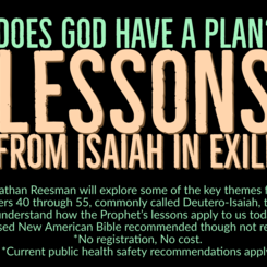 Does God Have a Plan? Lessons from Isaiah in Exile