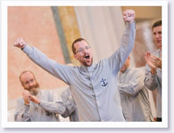 Brother Parker Makes Perpetual Vows
