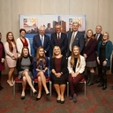 Lakes students meet with Delta Airlines CEO at Detroit Economic Club Meeting