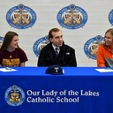 2018 National Signing Day at Our Lady of the Lakes Catholic High School