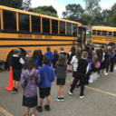 Elementary Students Learn About Bus Safety