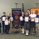 5th Grade sweeps the Kids Speak Out Speech Contest