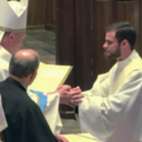 Karl Romkema, Jr ('09) ordained as Holy Cross Priest