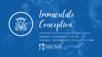 Immaculate Conception | Vigil Mass