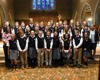 7th Graders attend Junior High Vocation Day at Sacred Heart Major Seminary