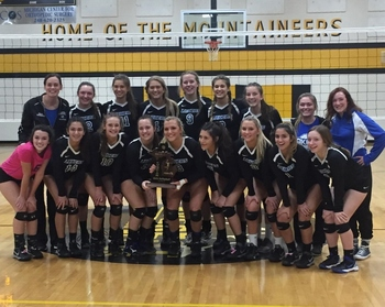 Laker Volleyball brings home District Trophy