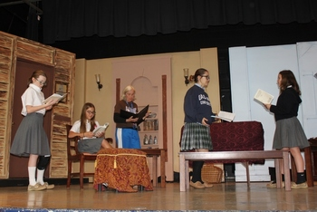 "OLL Theater presents ""Sherlock Holmes and the Spinsters of Blackmead"" this Weekend"