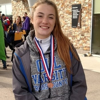 Hankey finishes in Top Ten in XC State Final