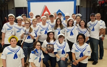 Laker Robotics FRC Team 5053 wins Ann Arbor Pioneer District