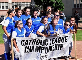 Davies tosses a no-hitter as Lakes beats St. Catherine for CHSL C-D championship