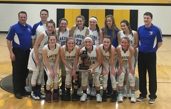 Lady Lakers Win District Championship With Ease