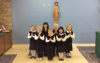 "Our Littlest Lakers Learn ""The Lent Song"""