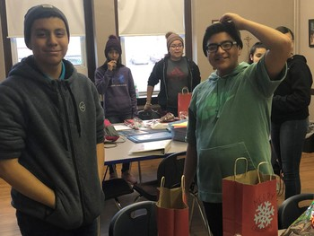 Student Council Surprises New Holy Redeemer Friends