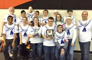 FIRST Robotics Team 5053 Places 7th at Belleville