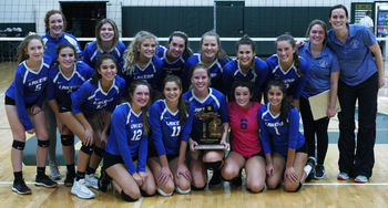 Waterford Our Lady of the Lakes edges Oakland Christian in volleyball district final