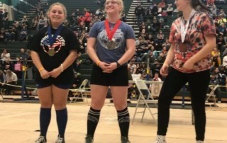 Lakes Powerlifter Sets Three State Records While Winning State Champion