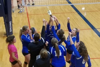 Laker Volleyball wins Gold Division at Mt. Morris Varsity Tournament