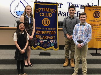 Eighth grader advances in Optimist International Competition