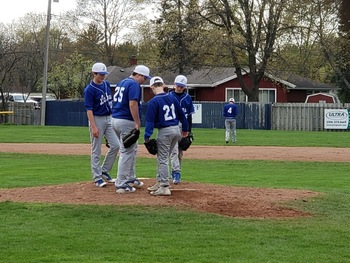 Lakes 7/8 Baseball splits doubleheader against Marist