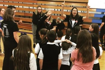 Drama Kid's Camp prepares students for spring musical
