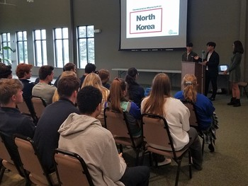 North Korean defectors share incredible journey with Laker students