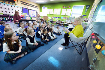 Sen. Ruth Johnson brings National Reading Month to Waterford