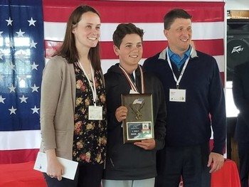 Laker eighth grader places sixth statewide in America & Me Essay Contest
