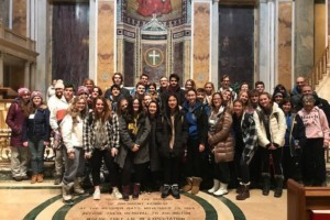 Lakers attend the 47th March for Life