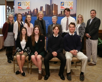 Laker students meet with PBS CEO Paula Kerger