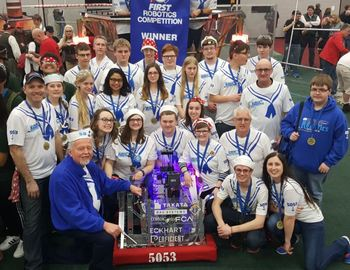 Laker Robotics dominates Woodhaven District with all Catholic alliance
