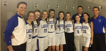 CYO Girls 7/8 #1 Team Make School History