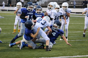Laker 5/6 Football brings home division championship