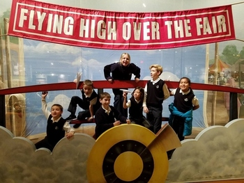 3rd Graders at Henry Ford Museum of American Innovations