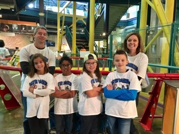 Water Warriors win Innovative Solution Award at Michigan Science Center Robotics Tournament