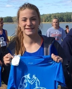 Hankey continues to lead the pack in Cross Country