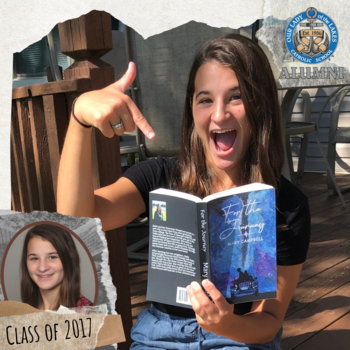 "Mary Campbell ('17) authors ""For the Journey"""