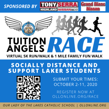 Tuition Angels Race - Virtual 5K & Family Fun Run