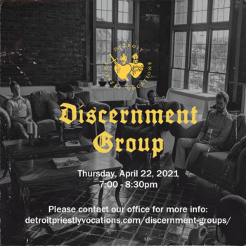 Priestly Vocations: Discernment Group