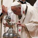 HOMILY OF POPE FRANCIS HOLY THURSDAY CHRISM MASS ST PETER'S BASILICA 28 MARCH 2013