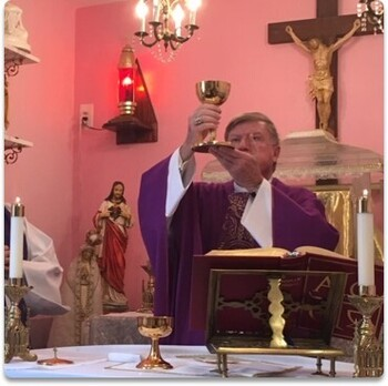 Blessing of Chapel Renovations in 2019