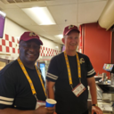 Look who's volunteering at FedEx Field!