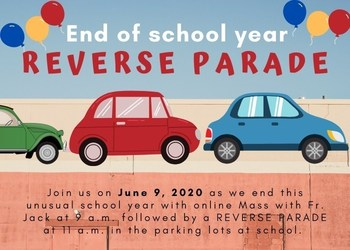 Save the Date: Reverse Parade 6.9.2020