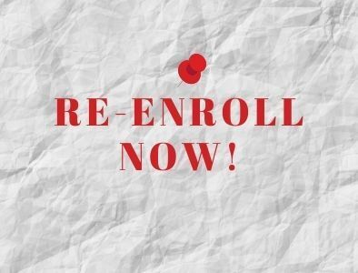 Re-Enrollment for Current Families & New Admissions
