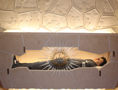 Tomb of Carlo Acutis is opened for veneration ahead of beatification