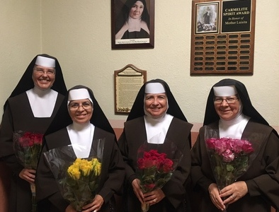 Thank you, Carmelite Sisters of the Most Sacred Heart of Los Angeles