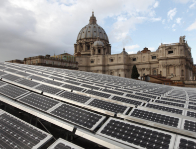 Pope says Vatican City will aim for net-zero carbon emissions