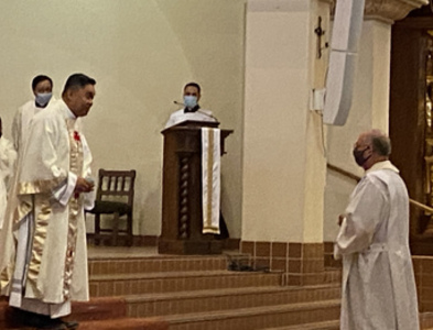 Fr. Peter Pedrasa ordained to the priesthood