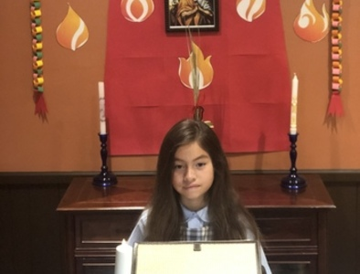 After speedy exit, Catholic school student waits for 'very different' return