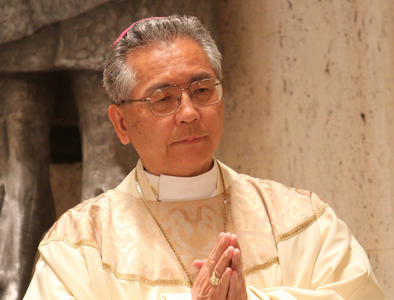 Japanese archbishop urges U.S. to witness the Gospel of peace