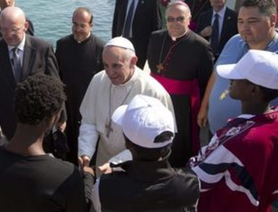 To understand this papacy, forget Rome – head to Lampedusa